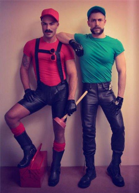 If you're a Gay Homosexual, find a way to make the costume sexy and provocative. Live a little! Nothing says iconic childhood video game character like leather gogo shorts, right?