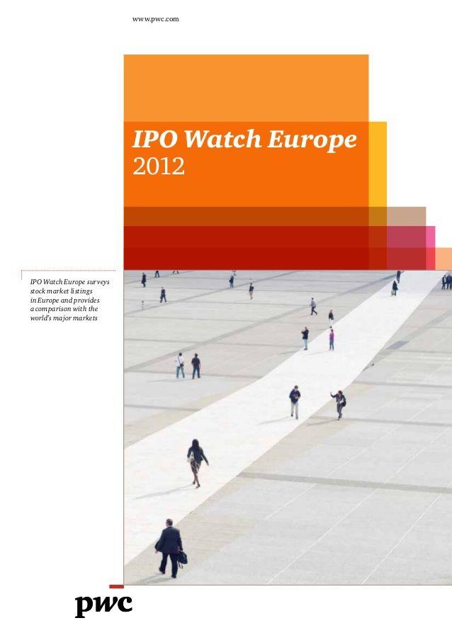 Etude PwC sur les introductions en bourse en Europe (2013). http://pwc.to/15BCsDw