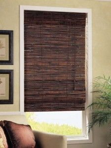bamboo roman shades instead of white blinds