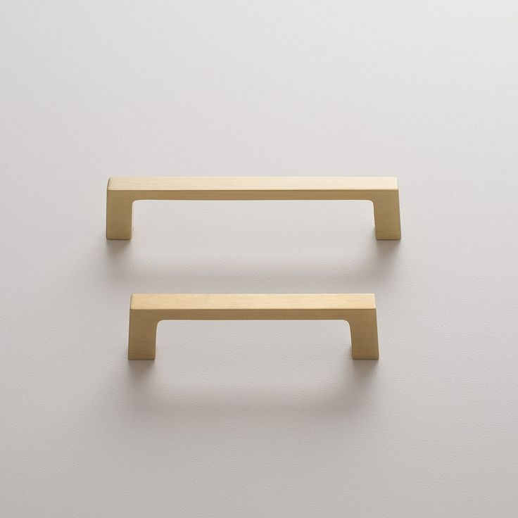 greenwood pull natural brass