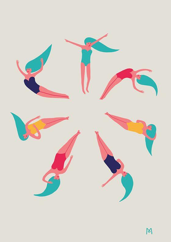 Michela Picchi | Love the colour scheme