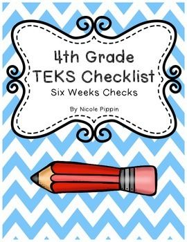 Every Texas teacher will love this TEKS checklist. The TEKS are presented in a shortened, user-friendly, printable checklist. The checklist format is designed to help teachers track what TEKS have been taught or as a tool in aligning curriculum. This includes the following subjects: English Language Arts and Reading, Mathematics, Science, Social Studies, Health, and Technology Applications.