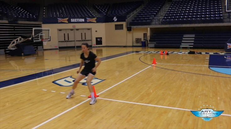 Agility exercises for volleyball players