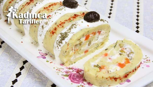 Rulo Patates Salatası Tarifi nasıl yapılır? Rulo Patates Salatası Tarifi'nin malzemeleri, resimli anlatımı ve yapılışı için tıklayın. Yazar: Sümeyra Temel