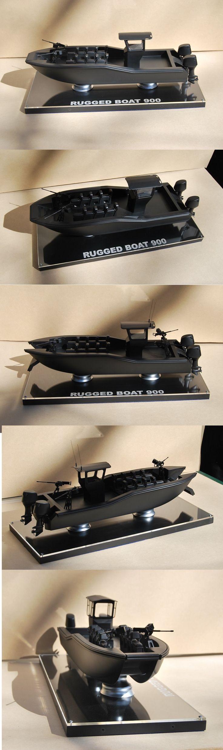 Rugged Boat Scale model