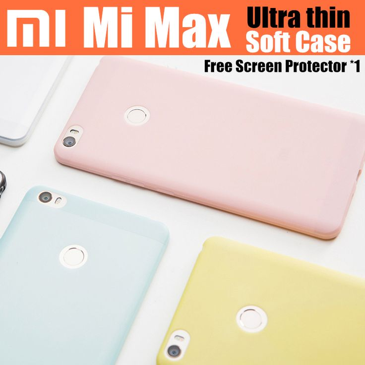 """mi max case original 100% from xiaomi case for xiaomi mi max ultra thin back cover case 6.44"""""""