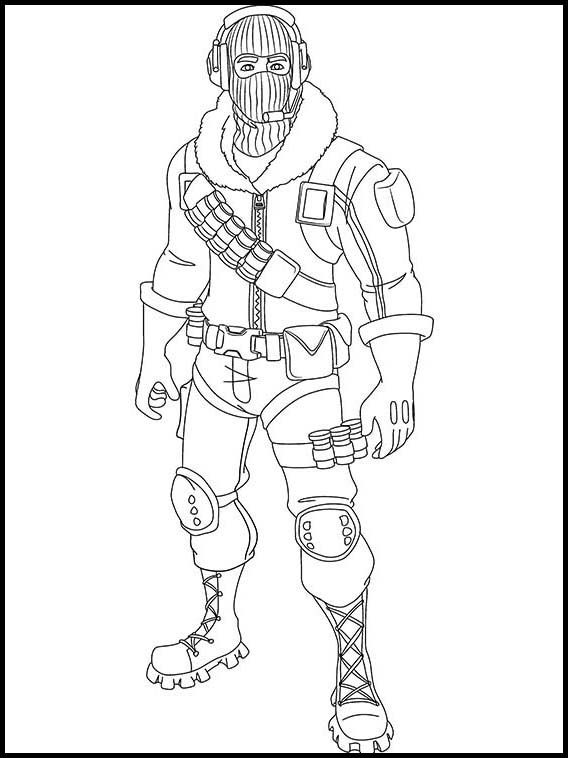 Fortnite 14 Printable Coloring Pages For Kids Cartoon Coloring Pages Printable Coloring Pages Coloring Pages
