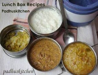 Lunch Box Recipes-Lunch Box Ideas-Lunch Recipes Indian