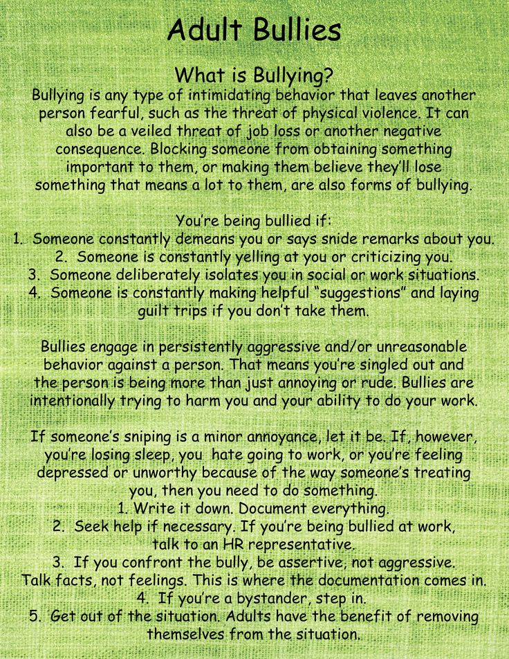 What is Bullying? – Chantelle Allison