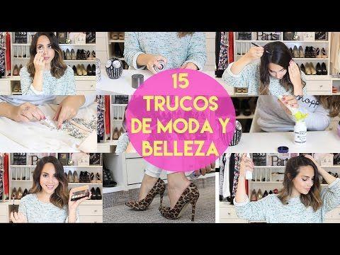 15 TRUCOS DE MODA Y BELLEZA   What The Chic - YouTube