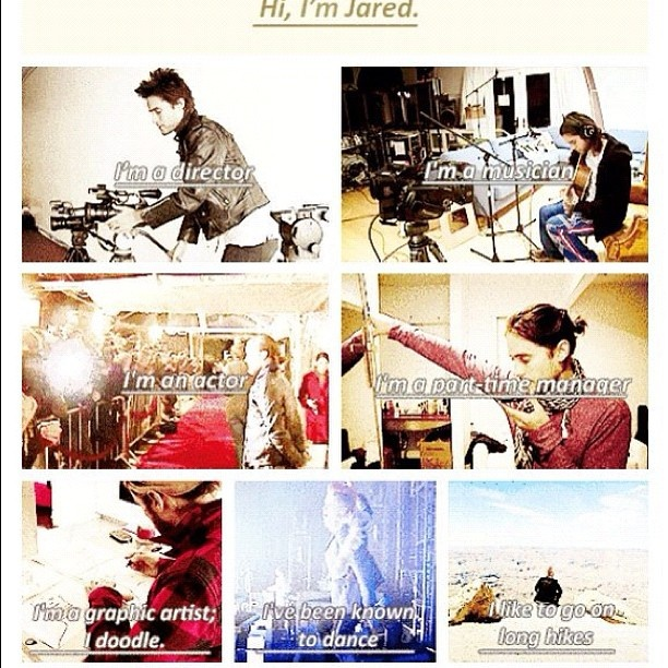 Jared Leto - a man of many talents <3