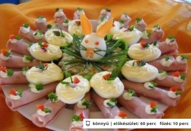 Húsvéti nyuszitál - Hidegtál 5.