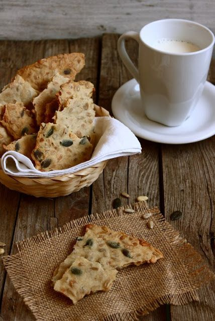MIEL & RICOTTA: Crackers rustici all'acqua