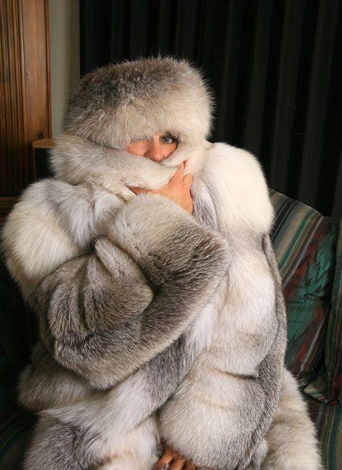 Fur coat porn