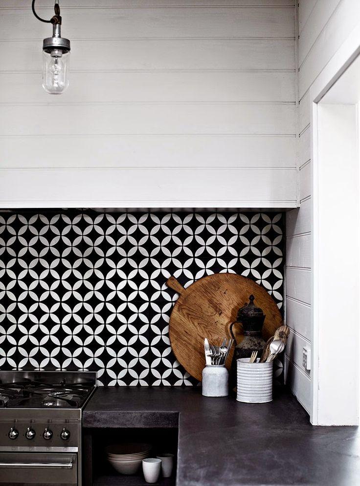 Australie / Une maison d'hôtes avec vue sur les vignes / - concrete and tile mix