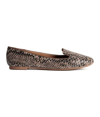 13€ - Loafer | Schlangenmuster | Damen | H&M DE