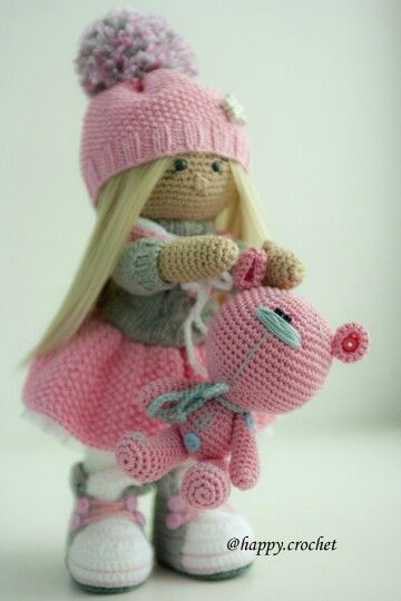Winter doll amigurumi