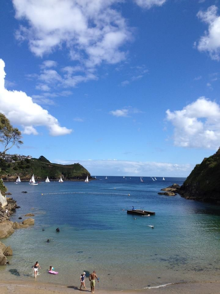 Fowey - went here today too. Beautiful. Readymoney beach.