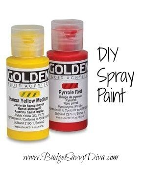 Make your own spray paint my thing pinterest home for How to make your own spray paint