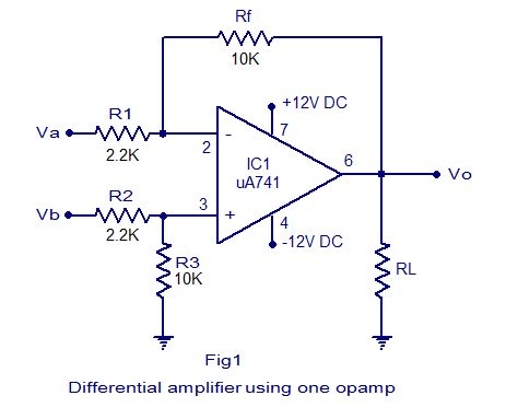 differential amplifier circuit electrical concepts in 2019 rh pinterest com
