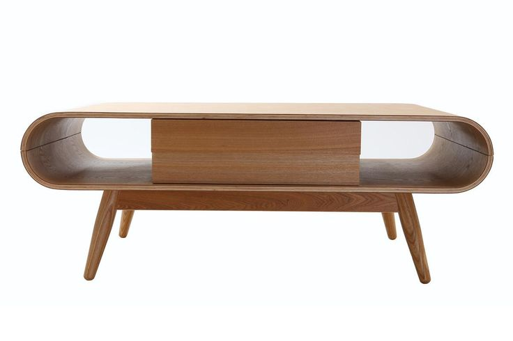 Table basse scandinave bois naturel BALTIK - Miliboo