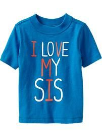 Baby Boy Clothes: Graphic Tees   Old Navy