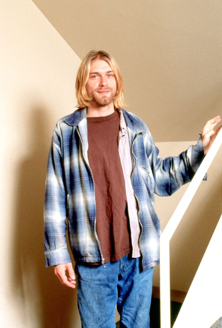 Kurt Cobain 8 13 93 Seattle 1990s Fashion Trends