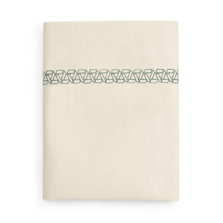 Anne de Solene Tropical Flat Sheet, Queen