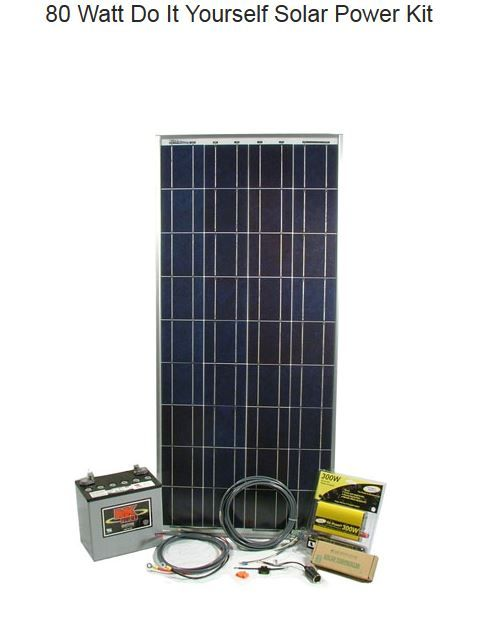 how to build a small solar panel