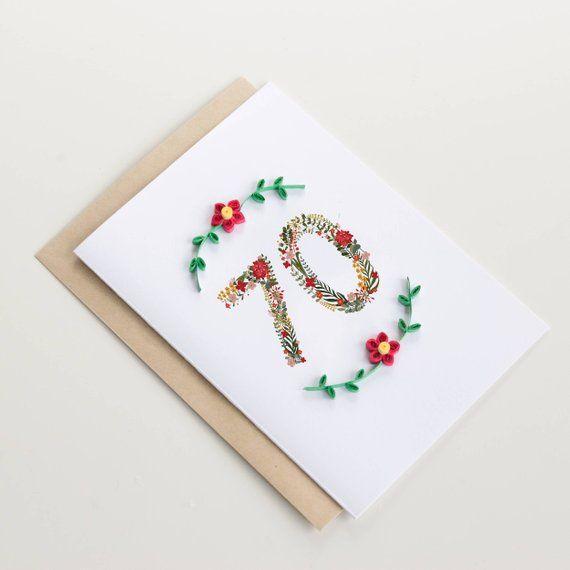 Large Luxury Handmade Personalised Birthday Card Mum//Girls//Nans and bespoke box