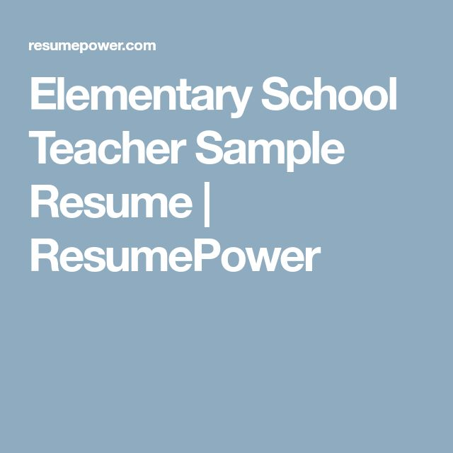 The 25+ best Teacher resumes ideas on Pinterest Teaching resume - words to describe yourself on a resume