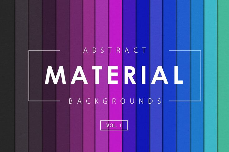 Material Design Backgrounds Vol. 1