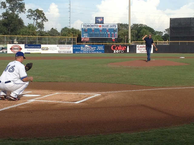 First Pitch by Governor Gary Johnson, via Flickr