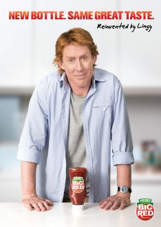 Heinz brings in big red Cameron Ling for new campaign