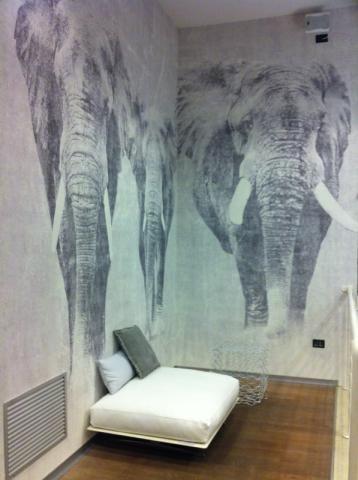 London Art elefanti