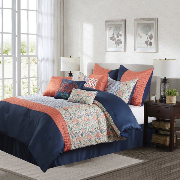 You Ll Love The Dascha 10 Piece Comforter Set At Wayfair Great Deals On All Bed Bath Products With Free Shipping On M Comforter Sets Bedding Sets Furniture
