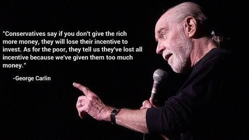 18 Wisdoms From The Late Great George Carlin