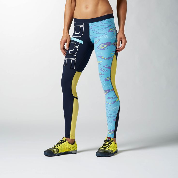 CrossFit is demanding. It requires strength, resilience and hardworking clothes to match. For instance, these WOD-worthy tights compress your glutes, quads and calves, so your legs stay in line during squats and jumps. Plus, it keeps odors to a minimum an