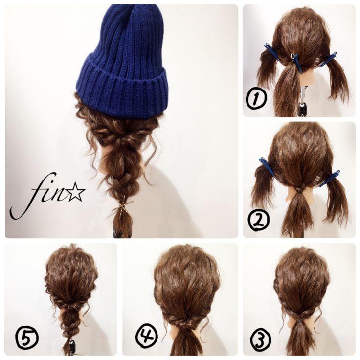 おすすめニット帽も紹介♡ニット帽に合わせるヘアアレンジ術