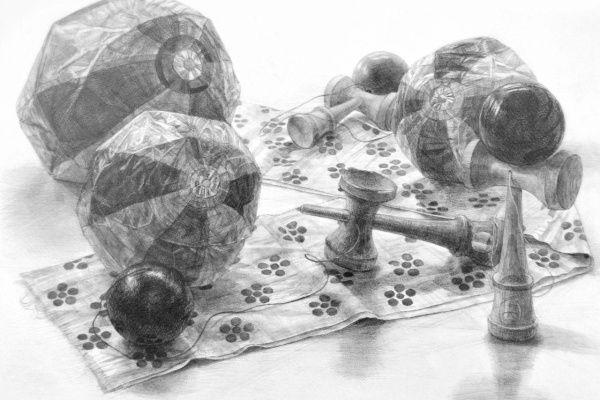 白掌水�y��y��y`�Y��&_生徒作品:絵画教室・画塾アトリエエムの日々|絵画,画,透明