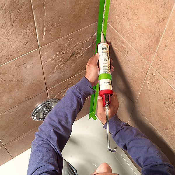How to recaulk kitchen sink