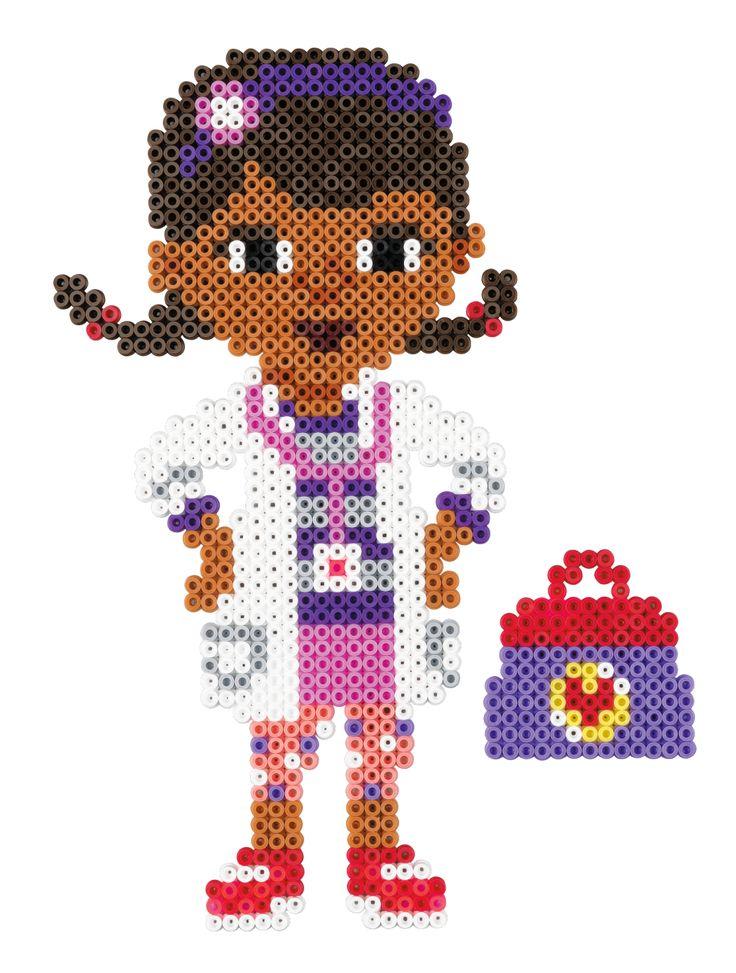 Dottie - Disney Doc McStuffins Hama perler beads - 7945 - HAMA