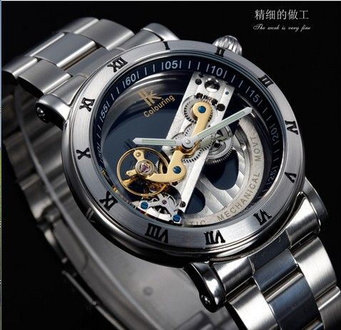 2014 New Design Watches steel Brand Ik Colouring Hollow Automatic Mechanical Watch Men Skeleton Swimming Watches 50M Waterproof Nail That Deal http://nailthatdeal.com/products/2014-new-design-watches-steel-brand-ik-colouring-hollow-automatic-mechanical-watch-men-skeleton-swimming-watches-50m-waterproof/ #shopping #nailthatdeal
