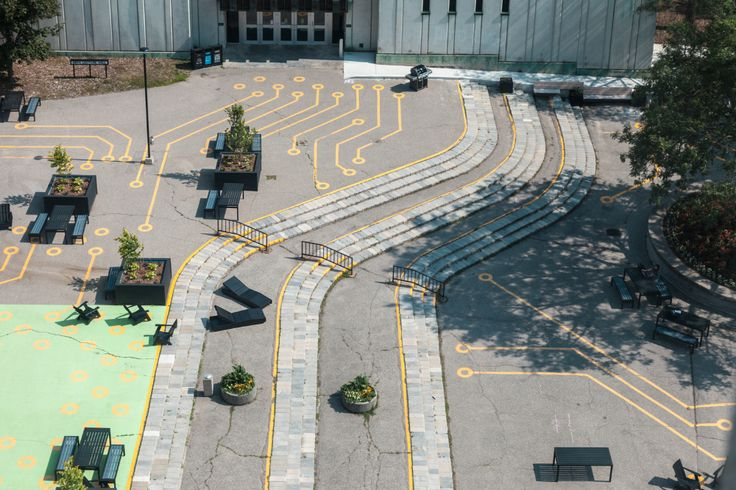 Gallery of Waterloo Arts Quad Outdoor Spaces / Bennett Oh - 6 | Outdoor spaces. Outdoor. Landscape architecture