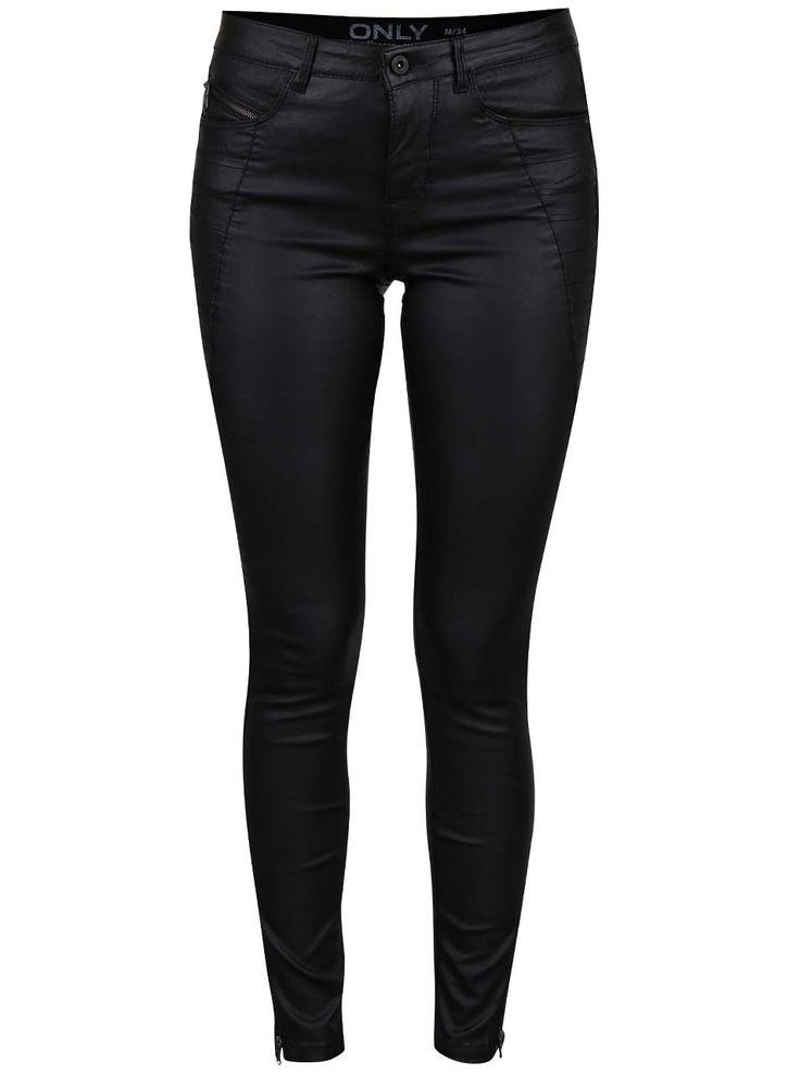 Pantaloni negri ONLY Royal Ro  - Only