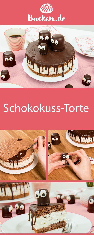 Schokoladen-Marshmallow-Kuchen   – Torten