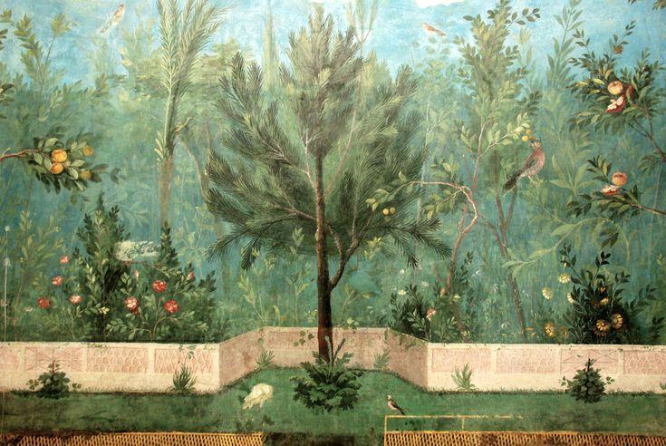 villa livia roma affreschi Cerca con Google Peinture