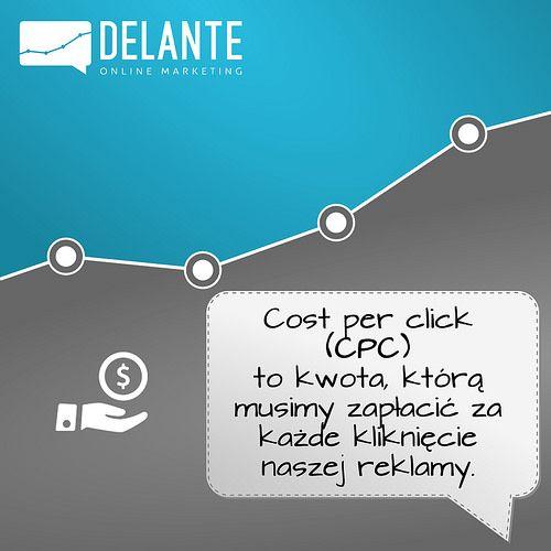 Czym jest cost per click? Przydaje się na pewno w #PPC. | by hhtp://delante.pl
