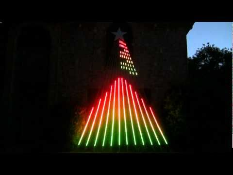 Galloping Jingle Bells   SuperStar Christmas Light Show, Allen, TX   YouTube