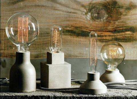 Las lámparas de filamento Architechural y Bulbos Juego de 4 Lámparas y bombillas de gallinero